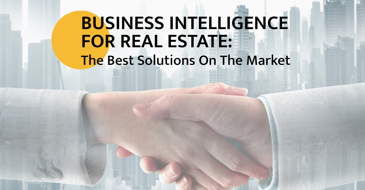 Business Intelligence and Real Estate: Catching Up To The Data